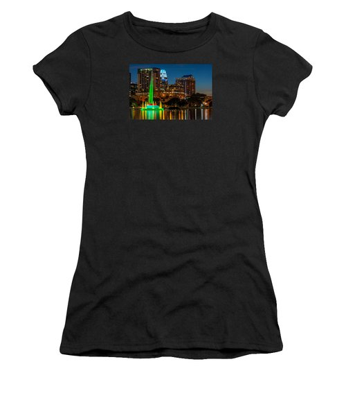 Lake Eola Fountain Women's T-Shirt
