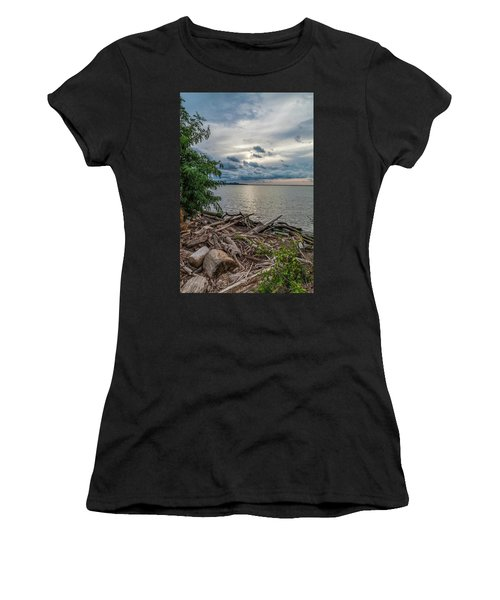 Lake Erie Serenade Women's T-Shirt (Athletic Fit)