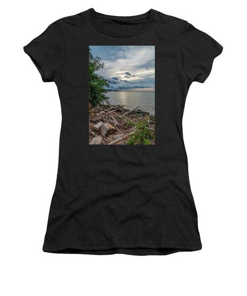 Lake Erie Serenade Women's T-Shirt (Athletic Fit)