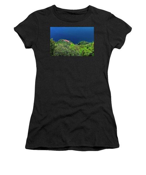 Lake Garda  Women's T-Shirt (Athletic Fit)