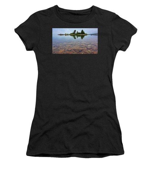 Lake Huron Island Women's T-Shirt