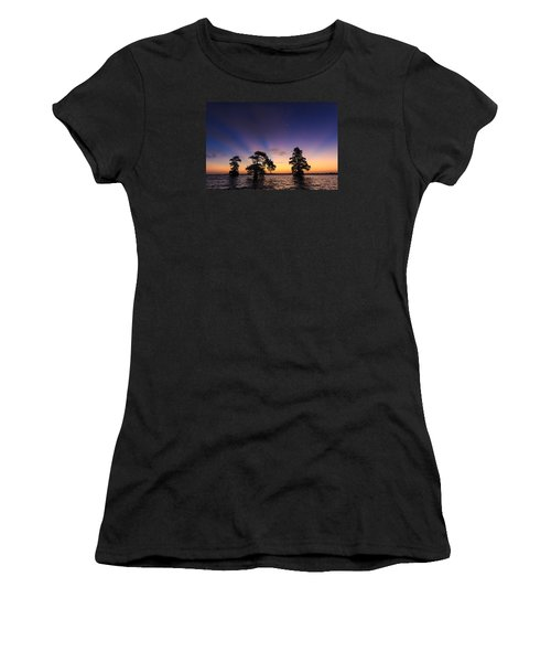 Lake Istokpoga Sunrise Women's T-Shirt (Athletic Fit)