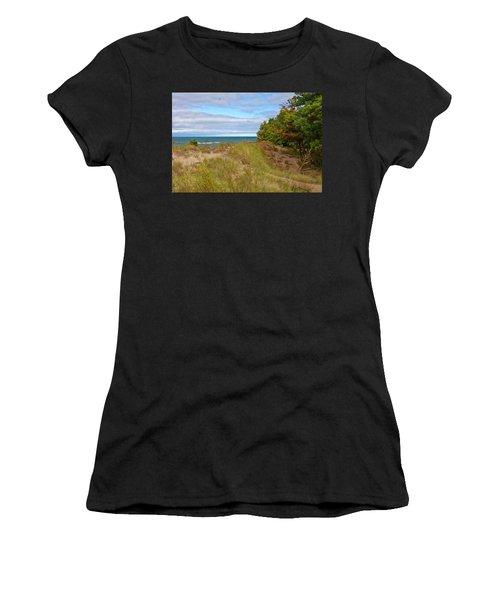 Lake Michigan Shore Women's T-Shirt