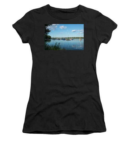 Lake Nokomis Minneapolis City Of Lakes Women's T-Shirt