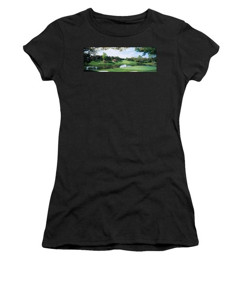 Lake On A Golf Course, Congressional Women's T-Shirt