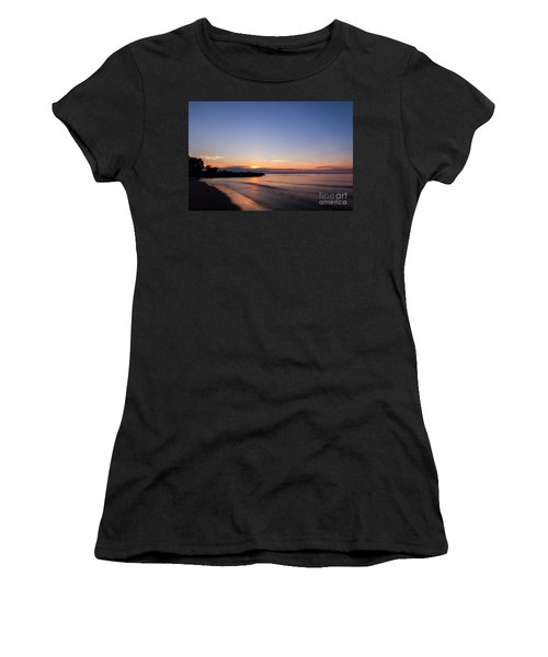 Lake Ontario Beach Sunset Women's T-Shirt