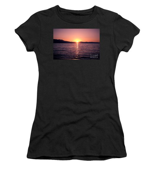 Lake Sunset 8pm Women's T-Shirt