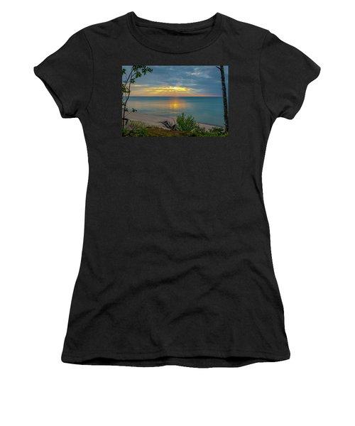 Lake Superior Sunset Women's T-Shirt