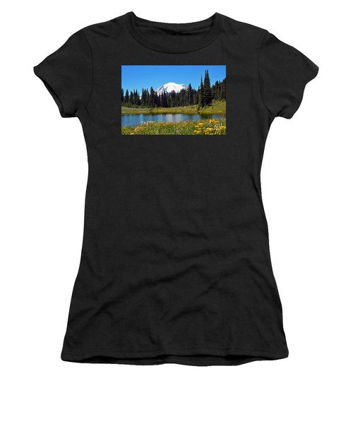 Lake Tipsoo Women's T-Shirt (Athletic Fit)