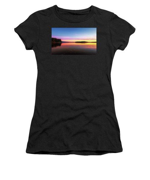Lake Winnipesaukee Reflections Women's T-Shirt