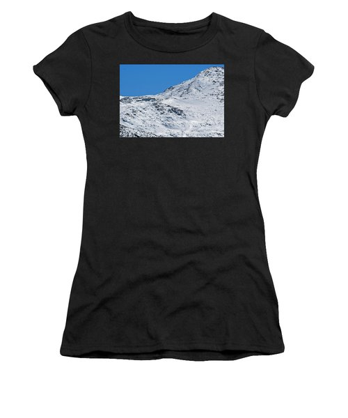 Lakes Of The Clouds Hut And Mount Monroe Women's T-Shirt