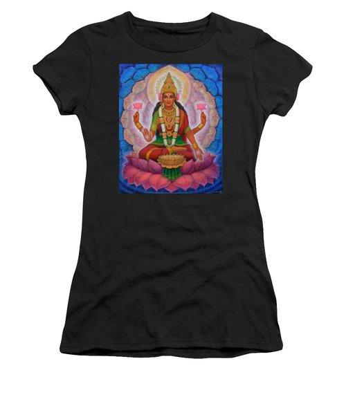 Lakshmi Blessing Women's T-Shirt (Athletic Fit)