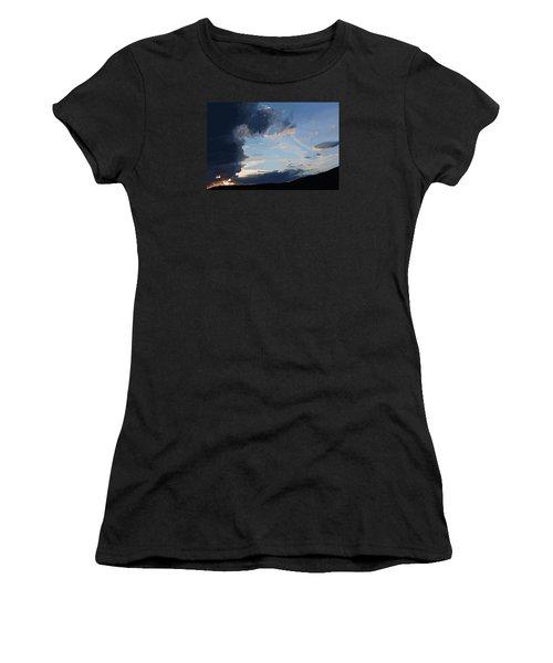 Lamar Sunset Women's T-Shirt (Athletic Fit)