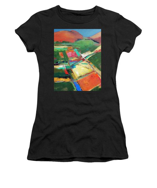Land Patches Women's T-Shirt