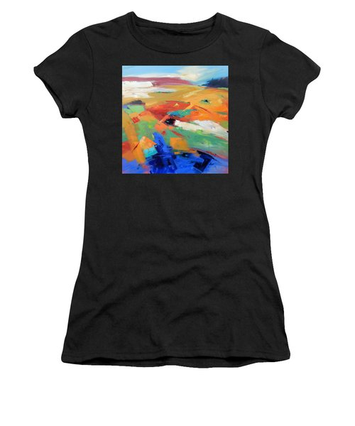 Landforms, Suggestion Of Place Women's T-Shirt