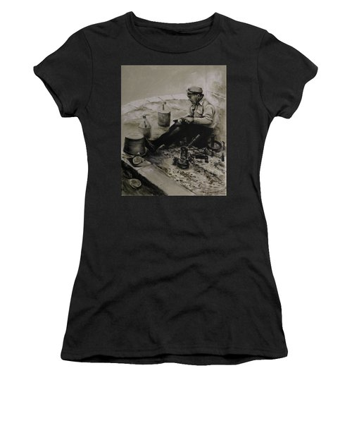 Landier.  Tinsmith. Women's T-Shirt (Athletic Fit)