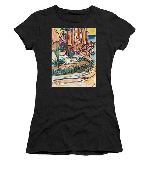 Lands End Women's T-Shirt (Athletic Fit)
