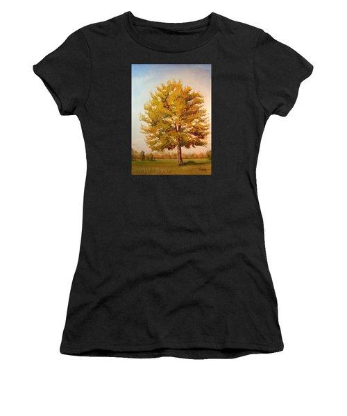 Landscape Oil Painting Women's T-Shirt