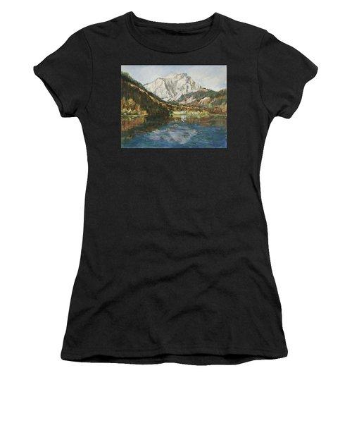 Langbathsee Austria Women's T-Shirt