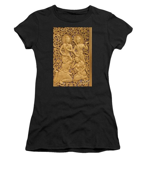 Laos_d59 Women's T-Shirt (Athletic Fit)