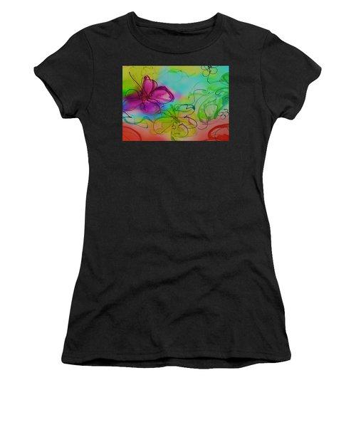 Large Flower 2 Women's T-Shirt