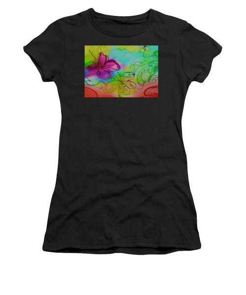 Large Flower 2 Women's T-Shirt