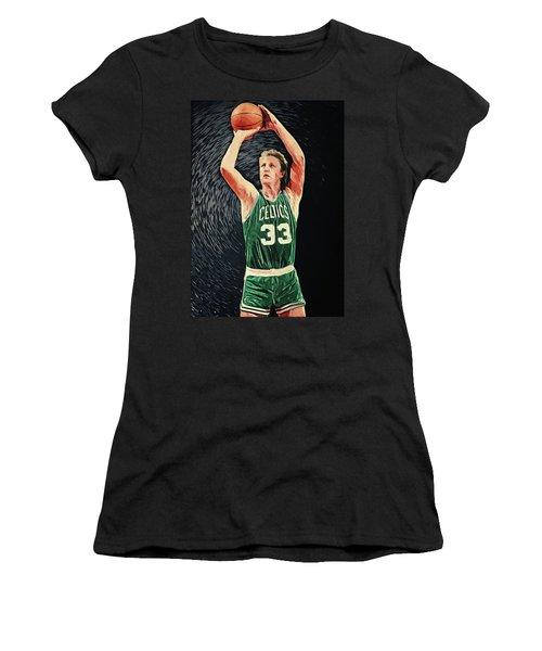 Larry Bird Women's T-Shirt (Athletic Fit)