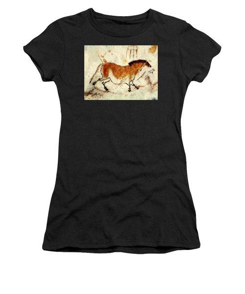 Lascaux Prehistoric Horse Women's T-Shirt