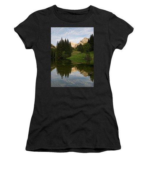 Last Light At Lac De Fontaine Women's T-Shirt