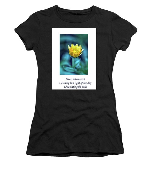 Last Light Haiku Women's T-Shirt (Athletic Fit)