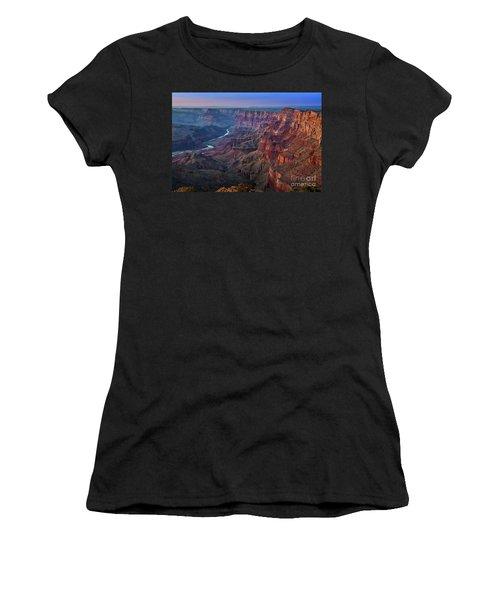 Last Light On The Canyon Women's T-Shirt