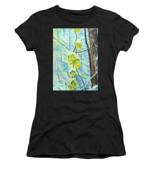 Last Of The Leaves Women's T-Shirt