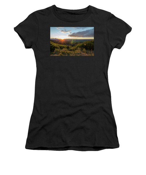 Women's T-Shirt featuring the photograph Last Rays by Margaret Pitcher