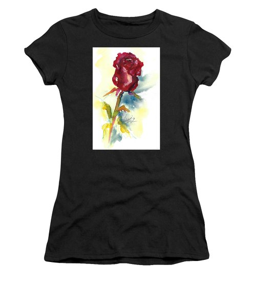 Last Rose Of Summer Women's T-Shirt (Athletic Fit)