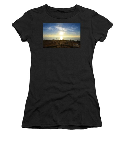 Late Afternoon - Digital Painting Women's T-Shirt (Athletic Fit)