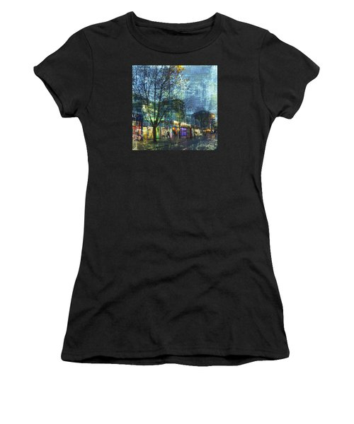 Late Afternoon In Autumn Women's T-Shirt (Athletic Fit)