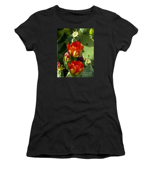 Late Bloomer Women's T-Shirt (Junior Cut) by Kathy McClure