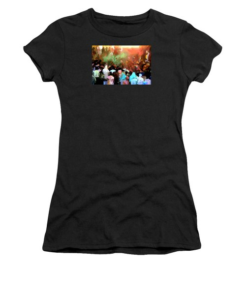 Lathmaar Holi Of Barsana-4 Women's T-Shirt (Athletic Fit)