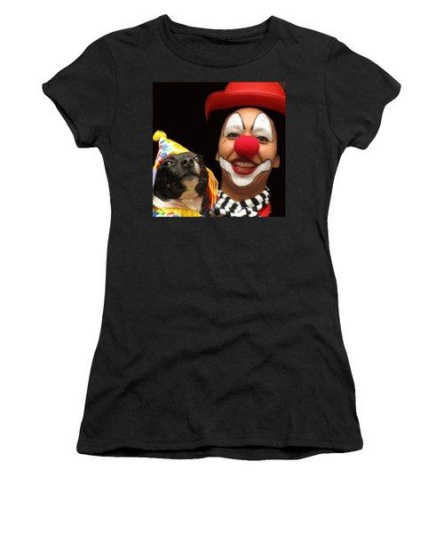 Laugh Out Loud Women's T-Shirt (Athletic Fit)