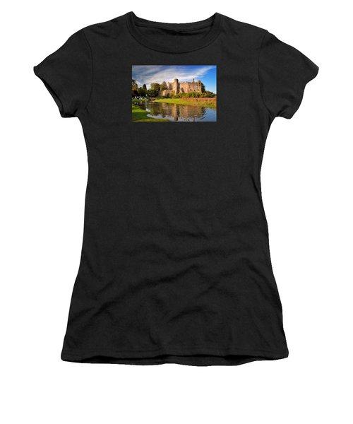Laugharne Castle 1 Women's T-Shirt (Athletic Fit)