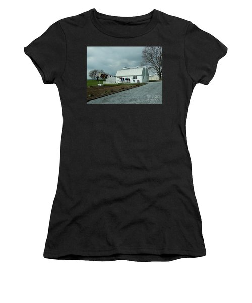 Laundry Day - Two Women's T-Shirt