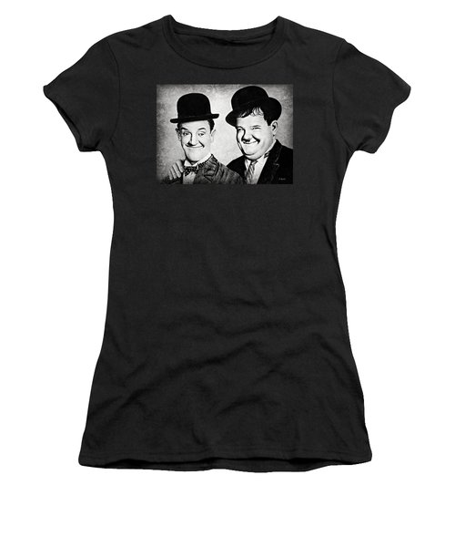 Laurel And Hardy My Pal Women's T-Shirt (Athletic Fit)