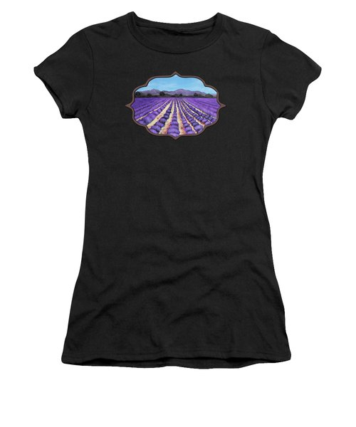 Lavender Field In Provence Women's T-Shirt