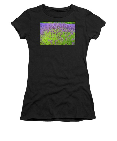 Lavender Gathering Women's T-Shirt (Athletic Fit)