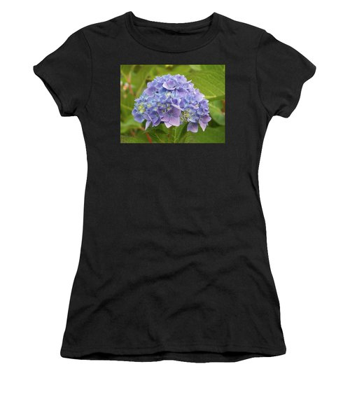 Lavender Hydrangea Women's T-Shirt (Athletic Fit)