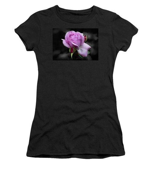 Lavender Rose Women's T-Shirt