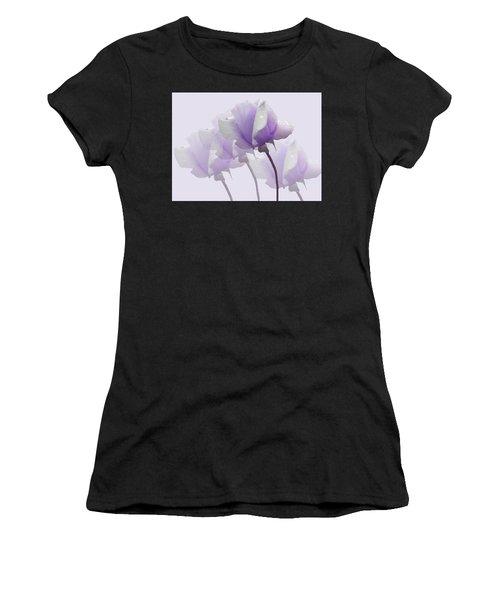 Lavender Roses  Women's T-Shirt (Athletic Fit)