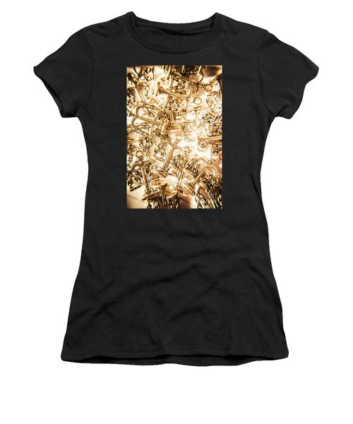 Law And Justice Abstract Women's T-Shirt