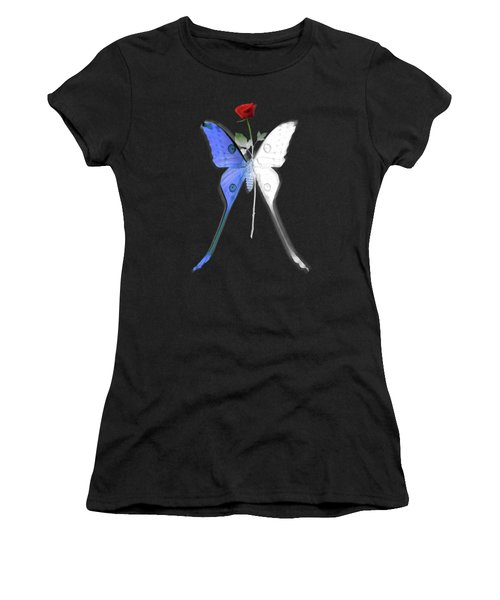 Law Of Attraction Women's T-Shirt (Athletic Fit)