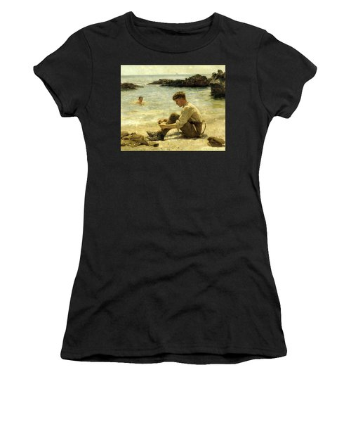 Lawrence As A Cadet  Women's T-Shirt (Athletic Fit)
